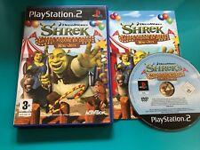 PS2 : Shrek - La fête foraine en délire mini-jeux