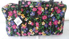 Vera Bradley Large Duffel Bag WILDFLOWER GARDEN NWT Luggage Piece, Carryon