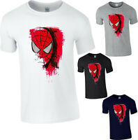 Spiderman T-Shirt  Superhero Marvel Comics Avengers Fantasy Gift Adult Kids Top