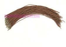 30 x Dupont 2.54mm Connector Female Crimped Contact Pin Cable 300mm BROWN Color
