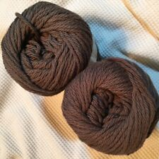#17 Peaches n Cream Yarn 240 yds 5 oz Total 100% Cotton Dark Taupe Two (2)