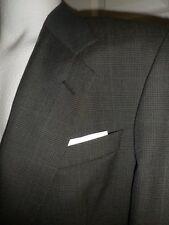 KILBURNE and FINCH Emerald Green Plaid 40R bespoke 2btn Blazer Sport Coat Jacket