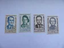 FRANCE TIMBRES ANNEE 1958