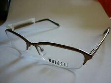 Karl Lagerfeld KL115 Glasses Frames Spectacles EyeGlasses half rim gold ref:127