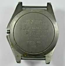 Vintage Rare Benrus Type II MIL-W-50717 Military Watch Case For Parts lot.19
