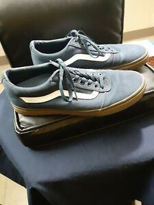 Mens Van's Old Skool Blue / White Skate Shoes Sz 11.5