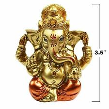 "3.5"" Mini Lord Ganesha Statues Hindu God Statue Ganesh Idol Figurine Ganapathi F"