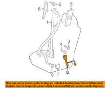 73240-35510-B0 Toyota Belt assy, front seat inner, lh 7324035510B0, New Genuine