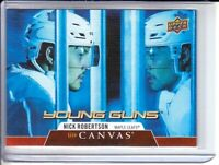 2020-21 Upper Deck Canvas #C118 Nick Robertson RC YOUNG GUNS Toronto Maple Leafs