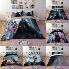 Star Wars Bedding Set Duvet Cover Pillowcases 3PCS Darth Vader Comforter Cover