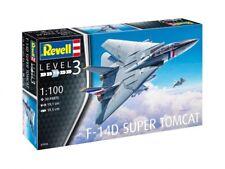 F-14D Super Tomcat, Revell Flugzeug Modell Bausatz 1:100, 03950