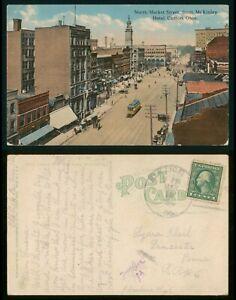 Mayfairstamps Ohio 1910s Canton Hotel North Market Street Silk Lick PA Cancel Po