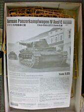 Tristar 1/35 Scale German Panzerkampfwagen IV Ausf C Spares and Parts !!!