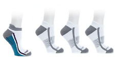Copper Fit™ 3 Pair Sport and 1 Pair Gripper Unisex Performance Socks, S/M