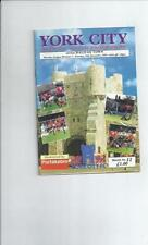 York City Division 3 Home Teams S-Z Football Programmes