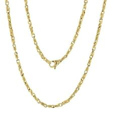 """14k Yellow Gold Handmade Fashion Link Necklace 20"""" 3.5mm 33 grams"""