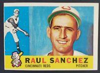 1960 Topps #311 Raul Sanchez - Cincinnati Reds - EX+