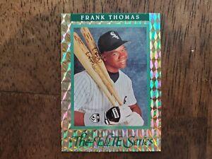 Frank Thomas 1991 Leaf The Elite Series /10000 Card 18 Baseball White Sox