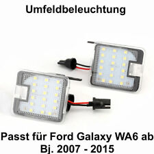 2x TOP LED SMD Umfeldbeleuchtung 6000K  Weiß Ford Galaxy WA6  (7908)