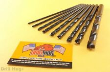 "Aircraft Extension Drill Bit Set 6"" Long MOLY-M7 Lifetime Warranty Drill Hog"