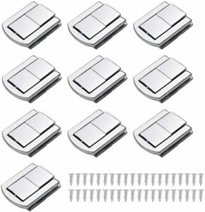 10 Pc Stainless Steel Box Latch Clasp Small Size Toggle Catch Lock Jewellery box