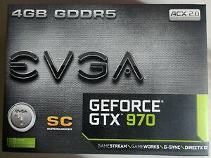 EVGA NVIDIA GeForce GTX 970 SC (4096 MB) (04G-P4-2974-KR) Grafikkarte
