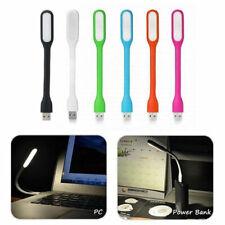 Flexible Usb Light Mini Led Reading Lamp Computer Night Notebook Pc Laptop 3 Pcs