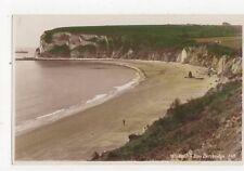 Whitecliff Bay Bembridge Vintage RP Postcard IOW 253a