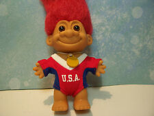 """USA OLYMPIC GIRL - 5"""" Russ Troll Doll - NEW IN ORIGINAL WRAPPER - RARE"""
