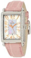 Gevril Women's 7248RE Avenue of Americas Mini Quartz Pink Diamond Watch