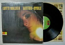 LOTTI GOLDEN Motor-Cycle Orig '69 Women's Lib Psych Pop 1st 1A Vinyl Shrink VG++