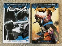 Nightwing, Vol. 1 and Vol. 3 TPB, DC Rebirth, by Tim Seeley and others.