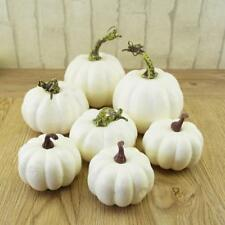 6pcs Halloween Artificial Mini Foam Pumpkin Simulation Props Garden Party Decor