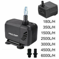 More details for submersible water pump fish tank aquarium sump pumps pond feature waterfall