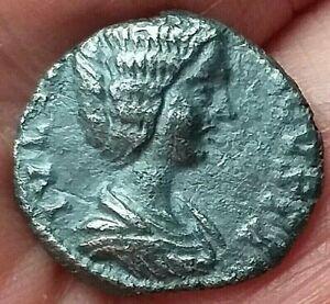 Julia Domna. Augusta AD 193-217. Rome Denarius AR  17 mm, 2,77 g