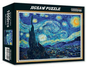 1000 Pieces Starry Sky Jigsaw Puzzle Educational Family Adult Kids DIY Toy Gift