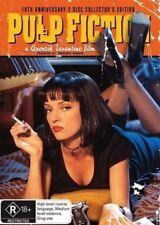 Pulp Fiction DVD TOP 250 MOVIES Quentin Tarantino 2-DISCS BRAND NEW R4