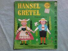 Vintage Golden Record Hansel & Gretel Song and Story Mitch Miller 45 rpm