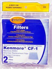 2 Pack Kenmore CF-1 Canister Vacuum Cleaner Filter Replaces # 86883