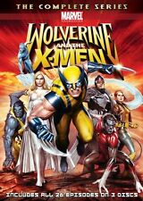 WOLVERINE AND THE X-MEN COMPLETE SERIES New 3 DVD