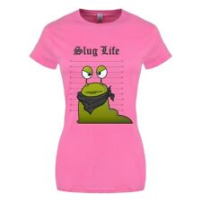 T-shirt Slug Life (Line Up) Women's Pink