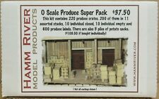 Hamm River Model Products O-Scale Produce Super Pack Resin Nos