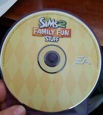 The Sims 2 Family Fun Stuff Expansion Pack (disc only) PC GAME - FREE POST