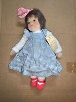 """Vintage Kathe Kruse Cloth Doll 14"""""""