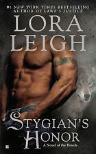 Stygian's Honor - Lora Leigh (Paperback)