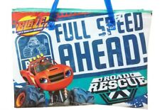 Blaze and the Monster Machines School Bag Zipper with handle Library Full Speed