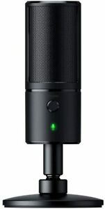 RAZER SEIREN X Streaming USB Condenser Microphone Super Cardiod Black + 1YR WRTY