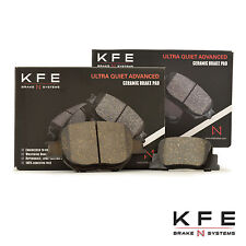 Premium Ceramic Disc Brake Pad FRONT + REAR New Set Shims KFE817 KFE835