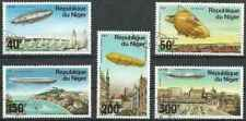 Timbres Dirigeables Niger PA268/72 o lot 28759