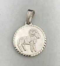 NEW Aires Sterling Silver Zodiac Pendant 925 Horoscope Charm S/S Solid Ram